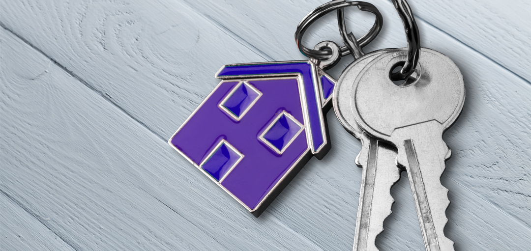 key to a help to buy mortgage house